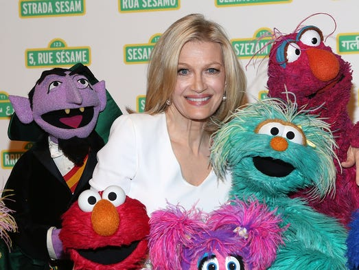 ABC News anchor Diane Sawyer attends the 12th annual Sesame Workshop Benefit Gala on May 28 in New York City.