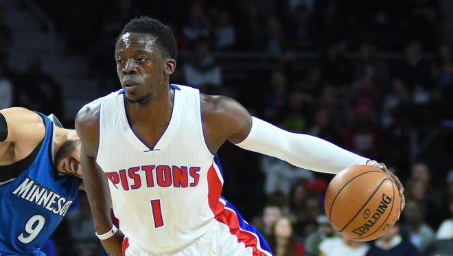 Pistons guard Reggie Jackson is in the second year of a 5-year, $80-million contract.