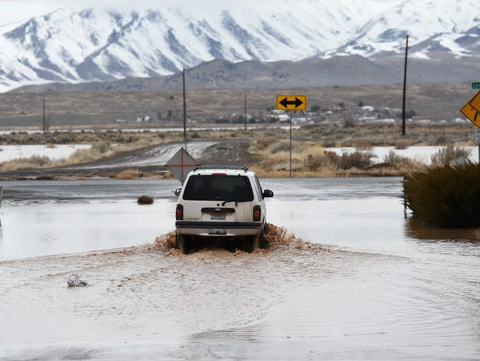 Lemmon Valley received a generous amount of water from