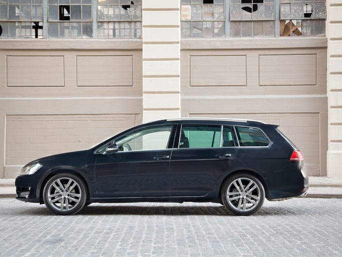 VW says the 2015 Golf SportWagen -- renamed from the current Jetta SportWagen -- goes on sale early in 2015 with new diesel, gas engines for better mpg and performance.