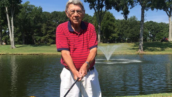 Shorty Gordon, who is 91 and still plays golf twice a week, made a hole-in-one early this month.