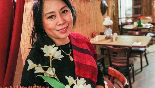 Mina Khamphilavong is owner of Mina's Cafe in South Salem.