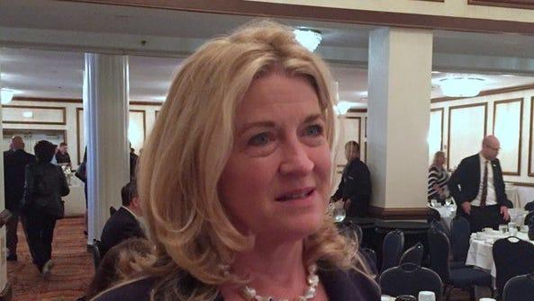 U.S. Senate candidate Wendy Long at the Republican