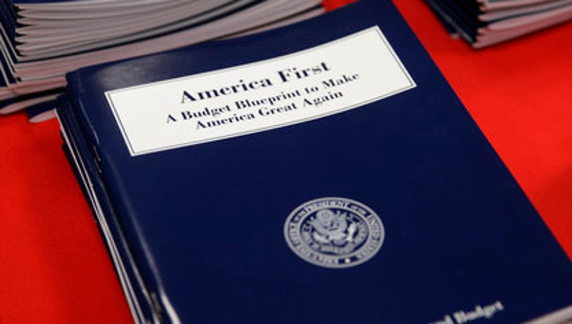 news agency look trumps budget