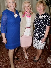 Women's Refuge Founder Donna Robart, Vero Beach Mayor Laura Moss and Keynote Speaker Lori McCormick