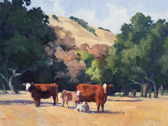 Curious Cows by Julias Munger Seelos