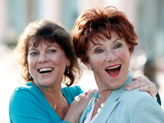 In this June 18, 2009 file photo, actresses Erin Moran