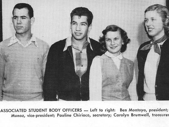Ben Montoya (far left) was Associated Student Body President at Coachella Valley High School.
