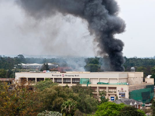 Kenya official says 2 or 3 Americans among attackers