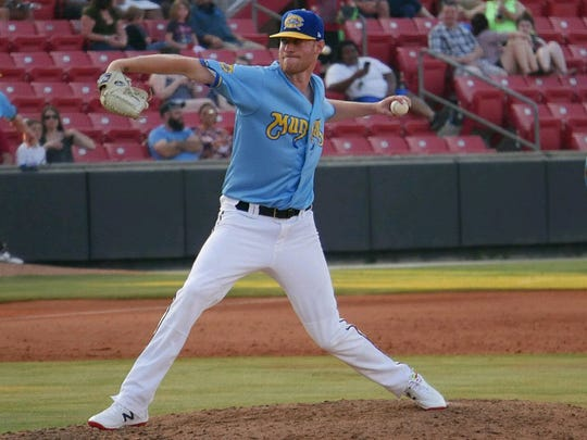 Milwaukee Brewers minor-league pitcher Cameron Roegner.