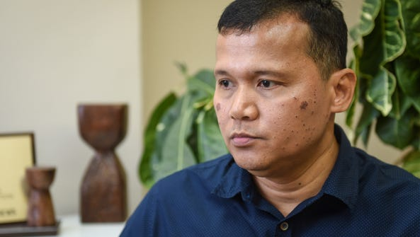 Roy Quintanilla reacts to Deacon Tenorio's support