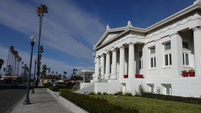 The Carnegie Art Museum in downtown Oxnard