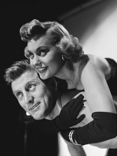 Kirk Douglas made his movie debut in 1946, but it was