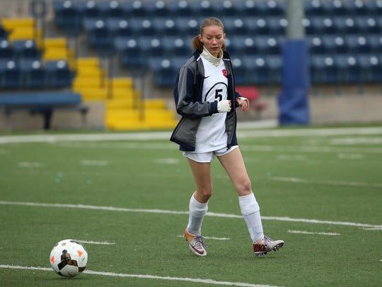 Scottsdale Christian Academy soccer player Dasha Kem on Jan. 19, 2017 in Phoenix, Arizona.