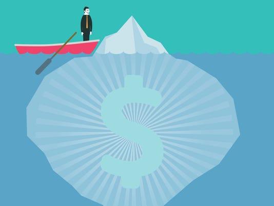 Taxes, Fees Iceberg