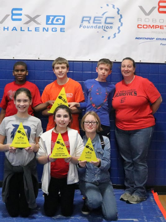 Clarenceville Co Champions 2017 VEX MS