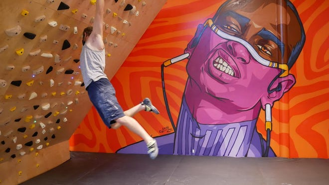 Crux Climbing Center opened its second climbing center on Aug. 21 next to the Brewtorium in the Highland neighborhood in North Austin.