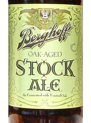 Berghoff Oak-Aged Stock Ale from Stevens Point Brewery, of Stevens Point, Wis., is 10% ABV.