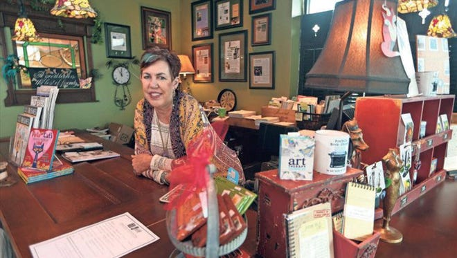 Ellen Ward is co-owner of FoxTale Book Shoppe in Woodstock, Ga. Sales there have increased between 15percent and 25percent a year since it opened in 2007 despite the presence of a nearby Barnes & Noble, Ward says.