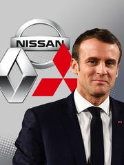 French President Emmanuel Macron told Japan's premier that it would be appropriate for Renault SA's new chairman to also be chairman of Nissan Motor Co., according to Fuji News Network.