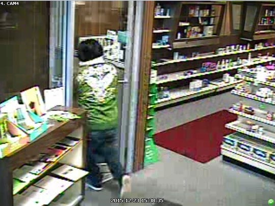 This man is suspected of robbing  Fifield Pharmacy twice in 30 days.