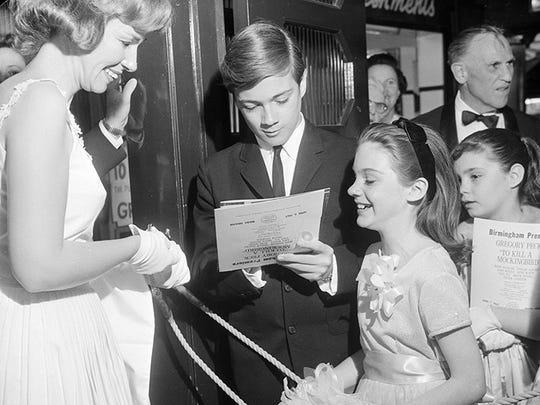 Circa 1963. Phillip Alford and Mary Badham at the Melba