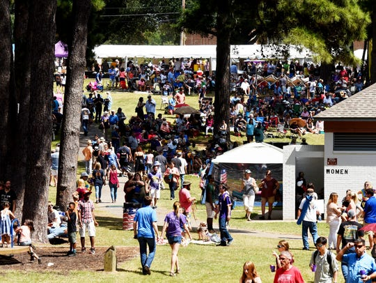 The Highland Jazz & Blues Festival Saturday afternoon