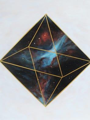 """No. 29, Orion Nebula,"" 30 inches x 30 inches, Christie"