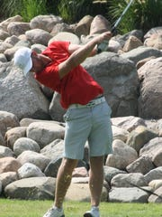 Christopher Treadwell tied for second in his first O&E golf tournament.