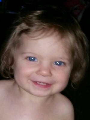 Shaylyn Ammerman's body was found Thursday, March 24, 2016. The 1-year-old was last seen on the morning of Wednesday, March 23, 2016.