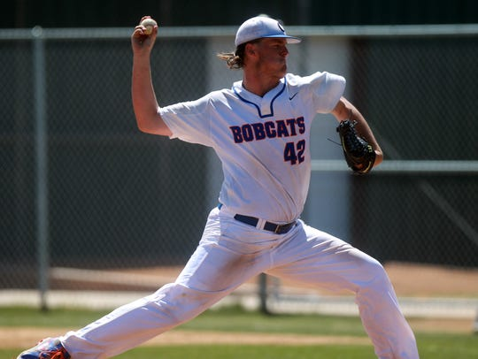 Former San Angelo Central High School pitcher Brock Barger helped the Bobcats combine to win 51 games in his junior and senior seasons. He's now a junior transfer at Abilene Christian University after starting his career at Oklahoma and then Midland College the next two years.