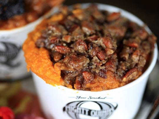Mighty Quinn's Barbeque serves slow smoked meats  including