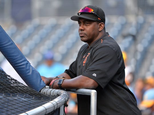 Hensley Meulens is currently a Giants coach.