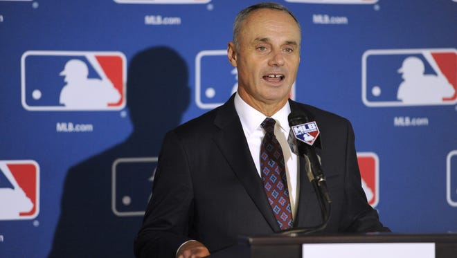 Baseball commissioner Rob Manfred lives in Tarrytown, one of many ties to the area of the biggest power bosses in pro sports.