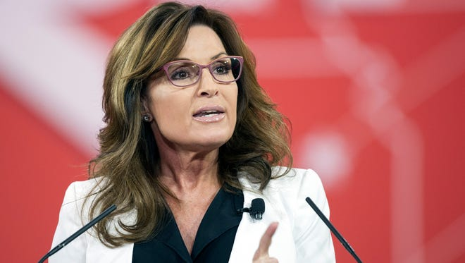 Former Alaska Gov. Sarah Palin will be in Nashville in April for the NRA Convention.