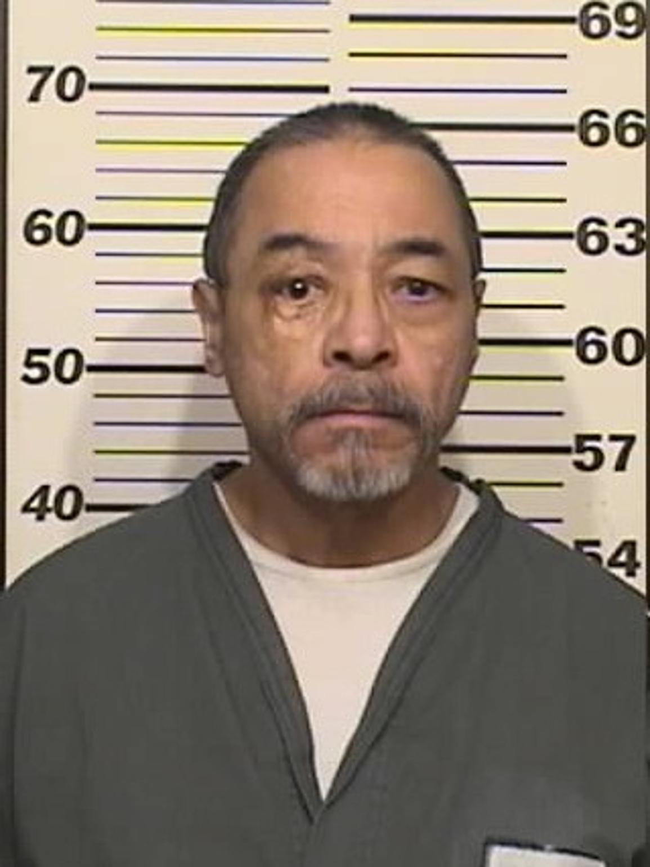 Santos Romero Jr. is shown in a recent booking mugshot.