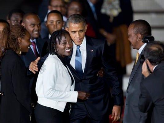Barack Obama, Auma Obama
