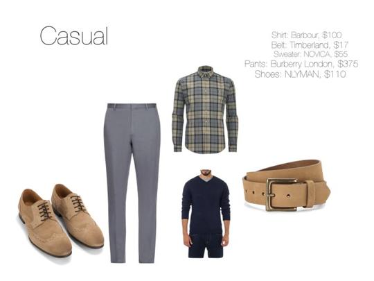 Dress Code: Casual (men)
