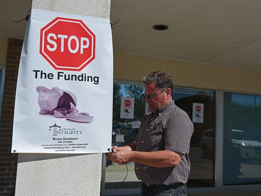 Bruce Danielson Stop the Funding