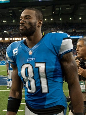 Calvin Johnson was third in the NFL last season with 1,492 receiving yards.