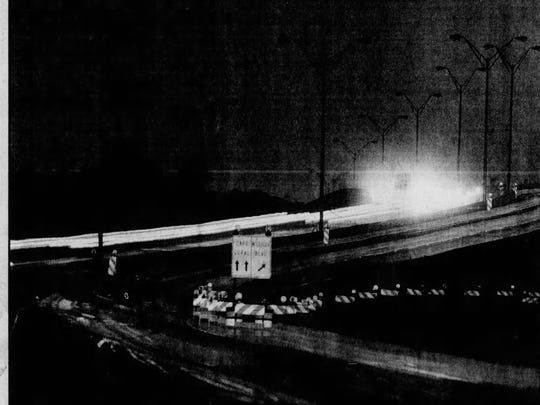 At one minute past midnight on Nov. 1, 1989, exactly 15 years to the month of its being lifted, the first toll of 75 cents was collected on the old Cape Coral bridge.
