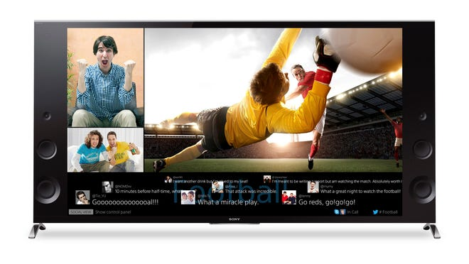 Ultra HD TVs, like this Sony X950B, display an image so detailed it's like peering out of a giant window.