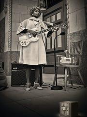 Sister Rosetta Tharpe and her Gibson SG