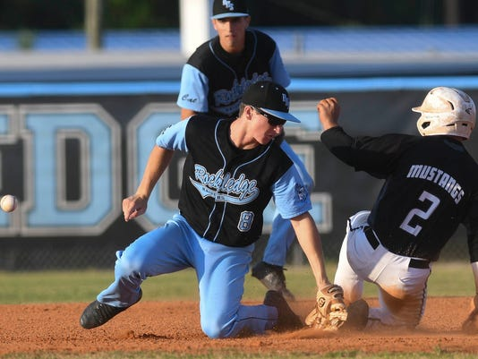 High School Baseball: Merritt Island at Rockledge