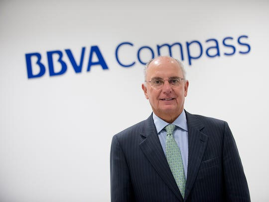 Incoming Chamber of Commerce leader Bruce Crawford at the BBVA building in Montgomery, Ala., on Tuesday, Nov. 17, 2015.