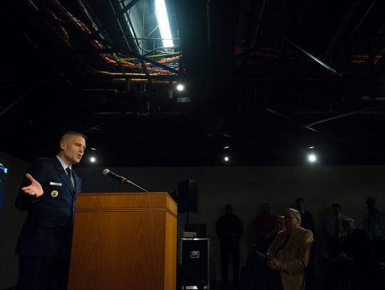 General Steven L. Kwast speaks about the creation of