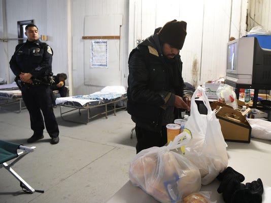 Shelter for homeless