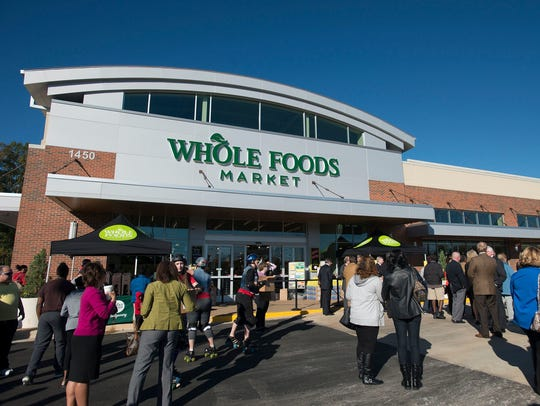 No. 3:  Whole Foods Market, a supermarket chain specializing
