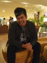 Justin Baldovino, filmmaker,director and director of