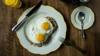 In Nashville, Biscuit Love's chef Karl Worley serves a Southern Benny, crafted with a beloved house-made biscuit, country ham, sausage gravy and fried eggs. It will blow your mind.